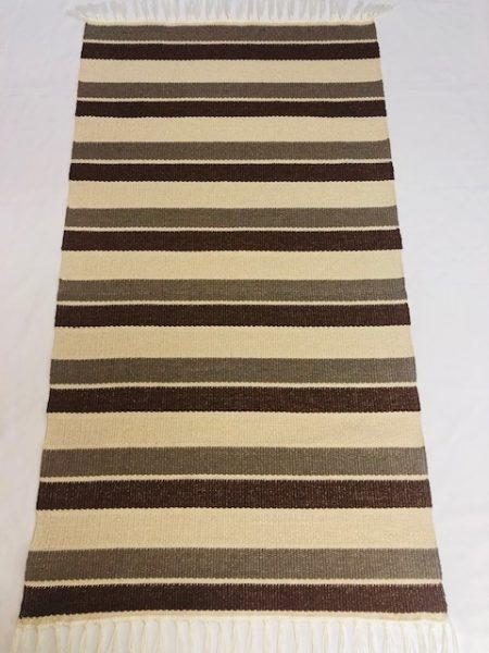 ALBINA szőnyeg kiscsikos 2-es Barna-3 as barna -4 es barna bézs elválasztó