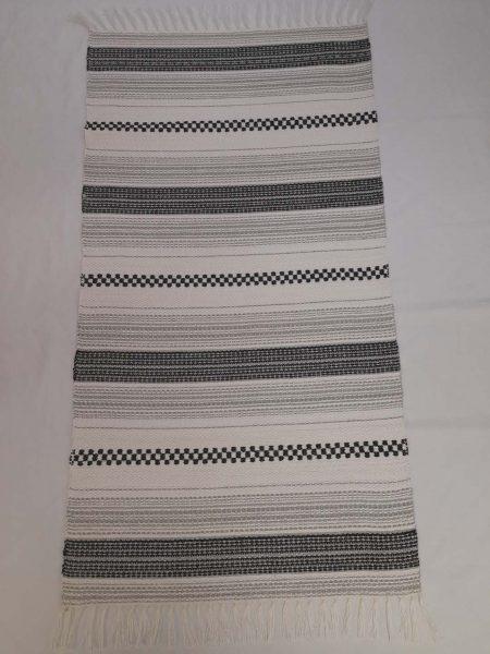 ALBINA szőnyeg hatszínű Ezüst-fekete-fehér