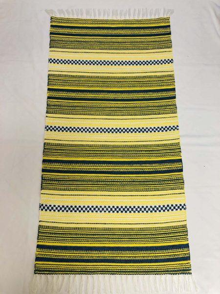 ALBINA szőnyeg hatszínű 1-es kék -napsárga-fehér