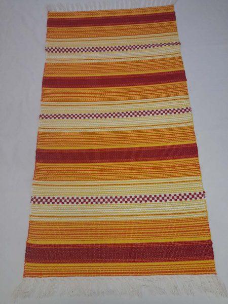 ALBINA szőnyeg hatszínű Narancs-napsárga-fehér -piros