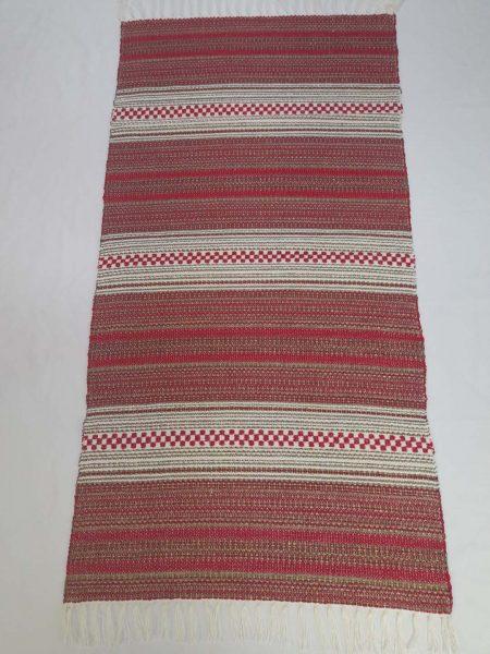ALBINA szőnyeg hatszínű Piros-arany-francia bézs