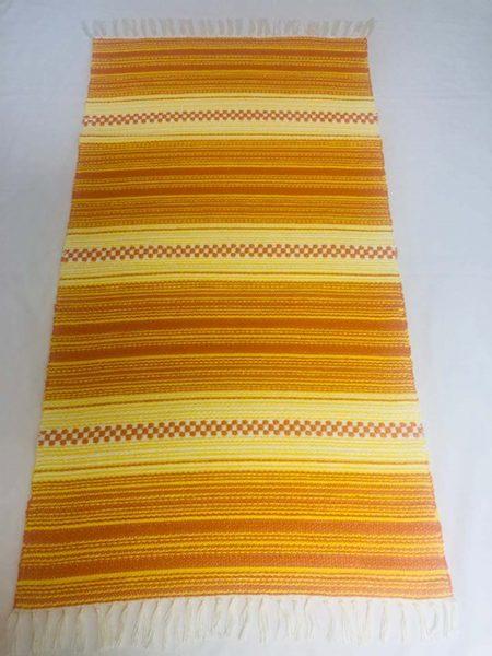 ALBINA szőnyeg hatszínű Narancs-napsárga-fehér
